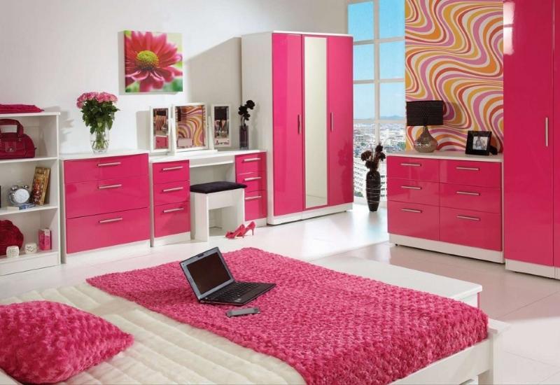 Корпусная мебель для подростка девочки