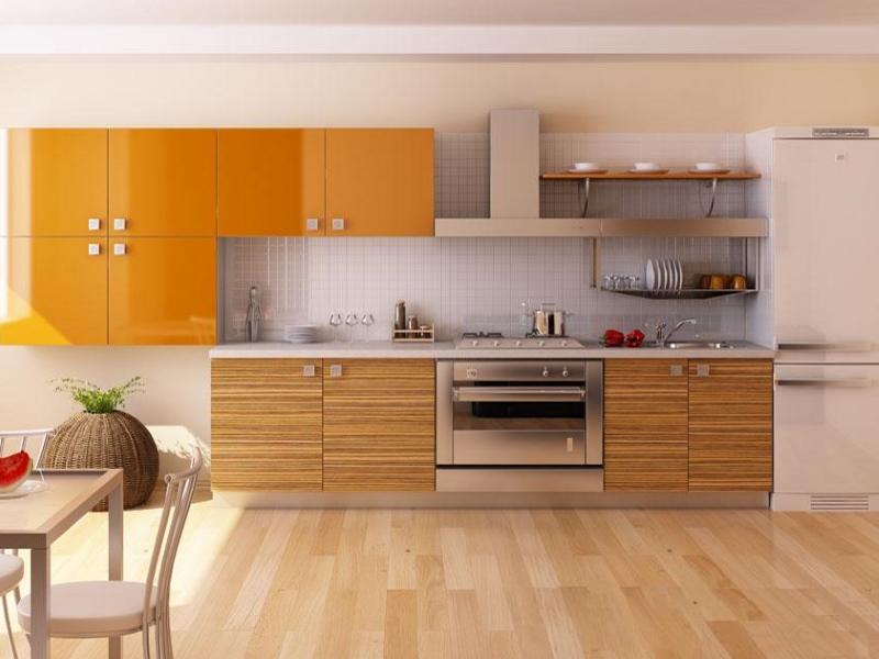 Акриловые фасады для кухни