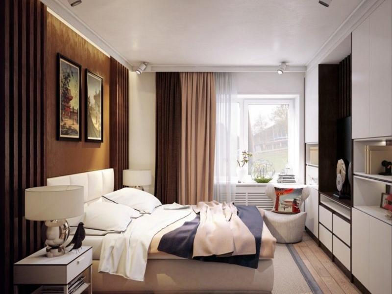 Дизайн мебели в спальне