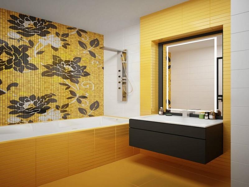 цвет ванной комнаты