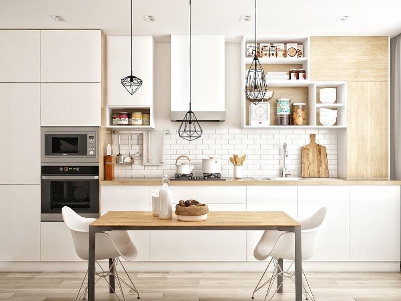 увеличение пространства кухни